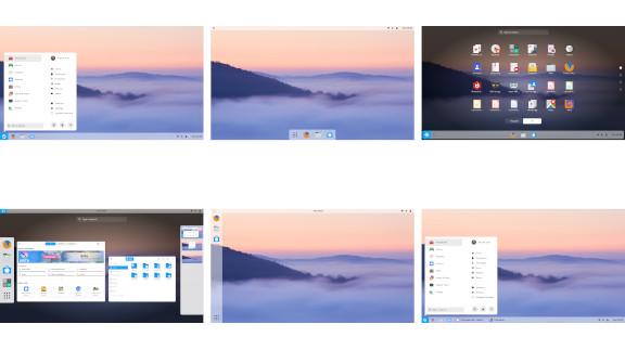 Desktop Layouts in Zorin OS
