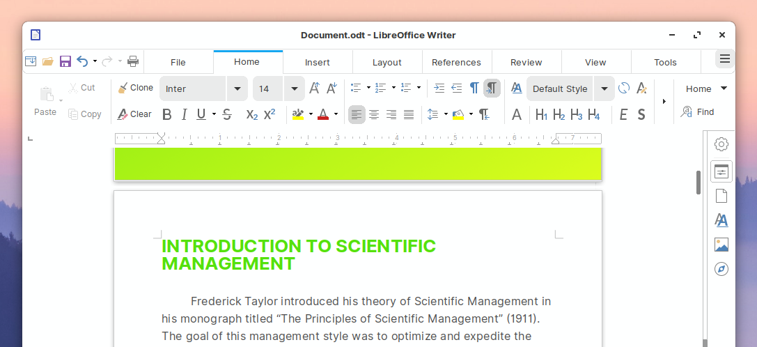 LibreOffice 6.4.6