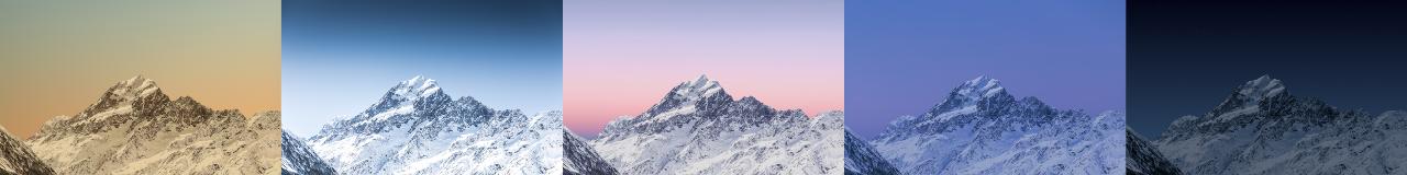 Dynamic mountain wallpaper