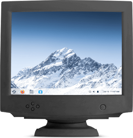 Zorin OS 16 Pro Lite on an old computer